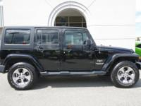 2016 WRANGLER SAHARA UNLIMITED 4X4 MANUAL TRANSMISSION