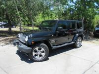 This 2016 Jeep Wrangler Unlimited 4dr 4WD 4dr Sahara