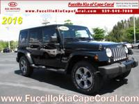 This outstanding example of a 2016 Jeep Wrangler
