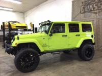 This 2016 Wrangler Unlimited Sahara started life as a