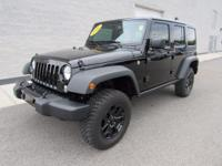 2016 Jeep Wrangler Unlimited Sport WILLYS WHEELER Black