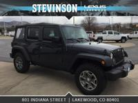 Stevinson Lexus is offfering this. 2016 Jeep Wrangler