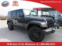 Recent Arrival! 2016 Jeep Wrangler Unlimited *** WILLYS