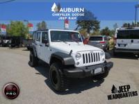 LOW MILES, 1 OWNER, 4WD!!  This 2016 Jeep Wrangler