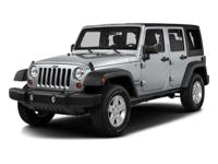 White 2016 Jeep Wrangler Unlimited Sport 4WD 5-Speed