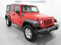 Recent Arrival! CARFAX One-Owner. 2016 Jeep Wrangler