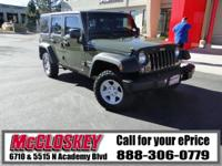 ONE OWNER & ONLY 10K Miles!! This newer 2016 Jeep