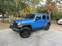 This 2016 Jeep Wrangler Unlimited 4dr 4WD 4dr Willys