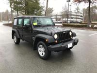 2016 Jeep Wrangler Unlimited Sport! Very low miles!