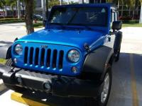 This 2016 Jeep Wrangler Unlimited Sport is proudly