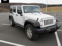 2016 Jeep Wrangler Unlimited Sport Williamsport area.