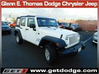*Here we have a 2016 Jeep Wrangler Unlimited Sport! It