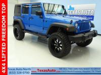 SPORT-4X4-LIFTED-FREEDOM TOP-BLUETOOTH-U CONNECT-FULL