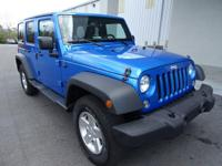 Look at this 2016 Jeep Wrangler Unlimited . Its