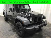ONLY 3K MILES - LIKE NEW - Willys Wheeler Edition -