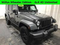 Willys Wheeler Edition - 4x4 4Door Unlimited - Granite