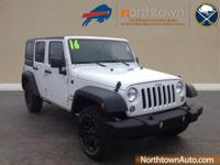 Introducing the 2016 Jeep Wrangler Unlimited! This is a