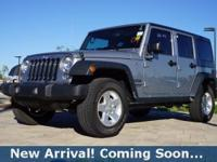 2016 Jeep Wrangler Unlimited Sport in Billet Silver