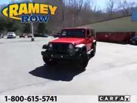 WILLYS EDITION. 4WD! Red Hot! Want to save some money?