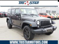 For a top driving experience, check out this 2016 Jeep