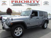The Jeep Wrangler Unlimited is the perfect SUV for a