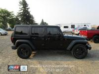 Clean 4-Door Unlimited Jeep! Automatic with Hard Top