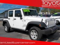 Options:  2016 Jeep Wrangler Unlimited Willys
