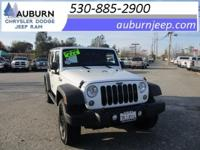 ONE OWNER, 4WD, TOWING PACKAGE! This 2016 Jeep Wrangler