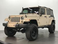 2016 Jeep Wrangler UNLIMTED SAHARA. MOJAVE SAND W/