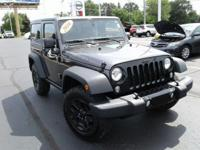 Boasts 21 Highway MPG and 17 City MPG! This Jeep