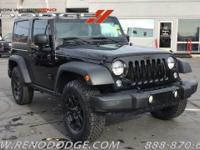 Options:  2016 Jeep Wrangler Willys