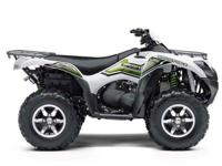 I currently have a new 2016 Kawasaki Brute Force 750 in