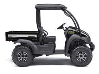 I currently have the 2016 Kawasaki Mule 610 XC-Special