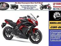 (908) 386-4148 ext.137 The Ninja 650 has the appearance