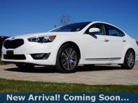 2016 Kia Cadenza Premium in Snow White Pearl, This