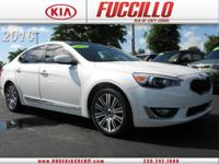 Looking for a clean, well-cared for 2016 Kia Cadenza?