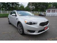 2016 Kia Cadenza Limited Silver Navigation, Back up