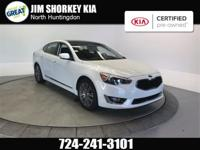 Certified. 2016 Kia Cadenza Premium FWD New Price!