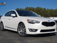 Options:  2016 Kia Cadenza Premium|White|Priced Below