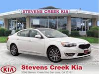 Options:  2016 Kia Cadenza Premium Sedan|White|V6 Gdi