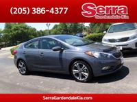 Steel Blue Metallic 2016 Kia Forte EX FWD Automatic