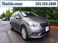 WOW!!! Check out this. 2016 Kia Forte LX Gray 1.8L I4