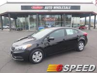 Trustworthy and worry-free, this Used 2016 Kia Forte LX