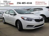 Options:  2016 Kia Forte Lx|White/|V4 1.8 L