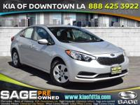 Introducing the 2016 Kia Forte! Feature-packed and