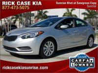 2016 Kia Forte LX in Silver, 10 year or 100,000 mile