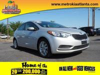 This 2016 Kia Forte LX features a braking assist, a