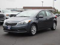 This GRAY 2016 Kia Forte LX might be just the sedan for
