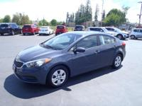 CARFAX One-Owner. 2016 Kia Forte LX Blue One Owner,