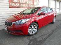 Well-Equipped 2016 Forte LX with under 5000 miles. This